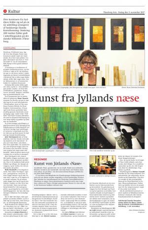 Kunst fra Jyllands næse -  Hans Christian Davidsen